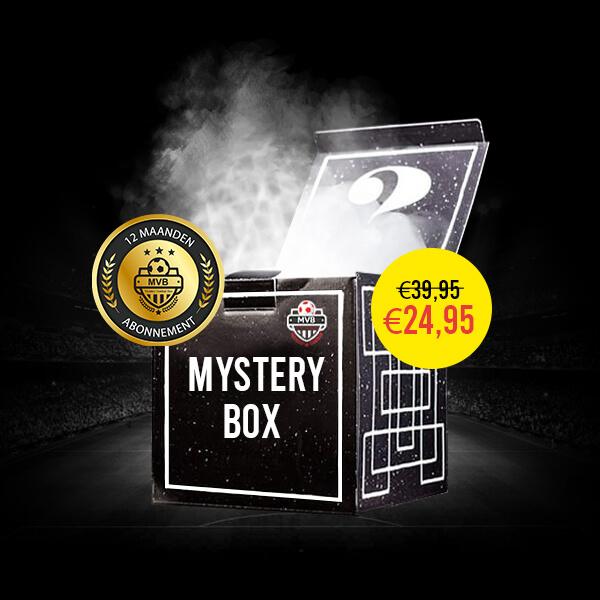 Mystery Voetbal Box - Goud Abonnement