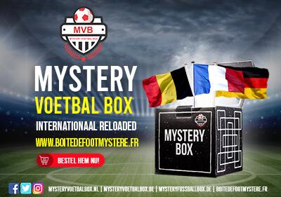 Mystery Voetbal Box nu Internationaal met verkopen voetbalshirts!
