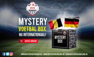 Voetbalshirts! Mystery Voetbal Box nu Internationaal!