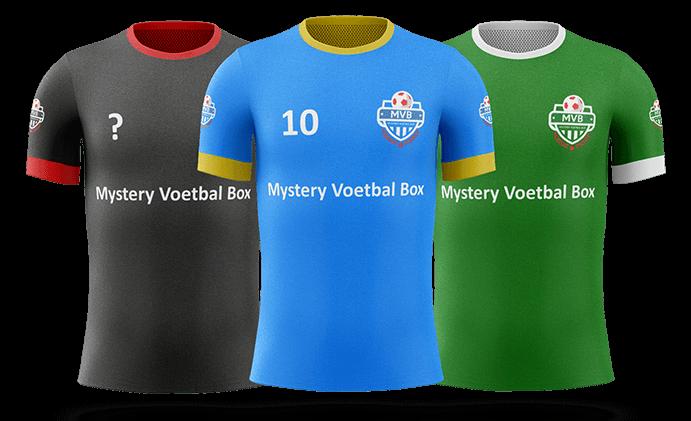 Mystery Box bestellen met de beste voetbal fanartikelen? Mystery Voetbal Box